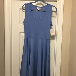 Medium blue Nicki Dress.